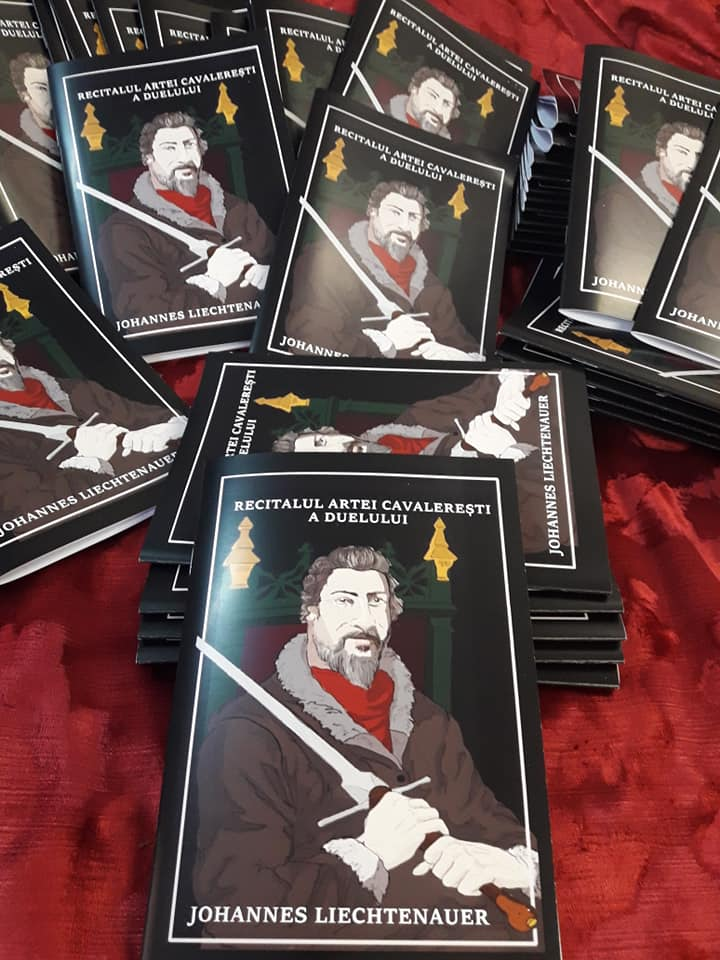 multiples copies of the first Romanian translation of the treatise of Liechtenauer